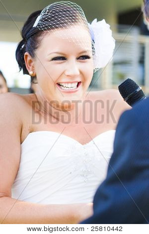 Crying And Laughing Bride