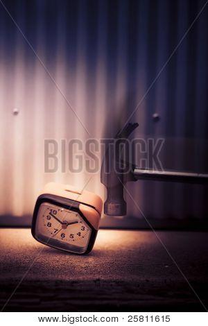 Clock The Hammer