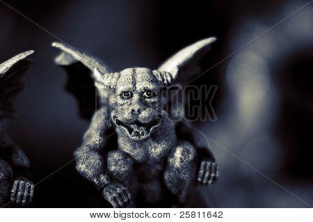 Evil Gargoyle Statue