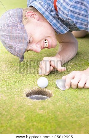 Crazy Golfer