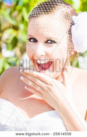Thrilled Bride