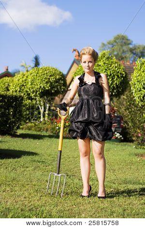 Do It Yourself Gardening Lady