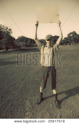 Notice Of Vintage Golfing