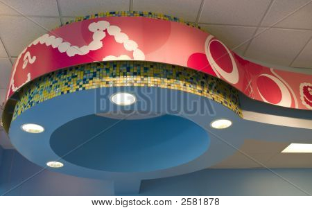 Abstract Ceiling Fixture