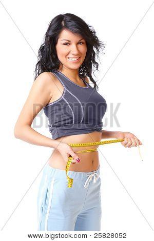 Sporty Slim Girl