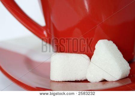 Hearth Shaped Sugar