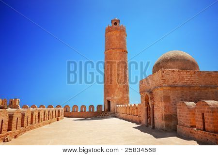 Tower Of The Ribat At Sousse