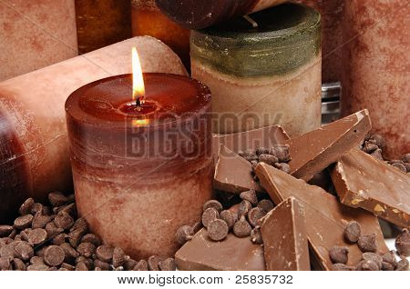 Chocolate Scented Candles