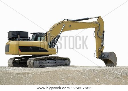 Relaxed Yellow Digger