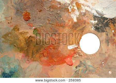 Studio Art Mixing Palette