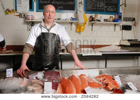 Fishmonger In Apron