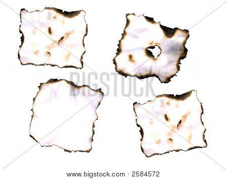 Burn paper