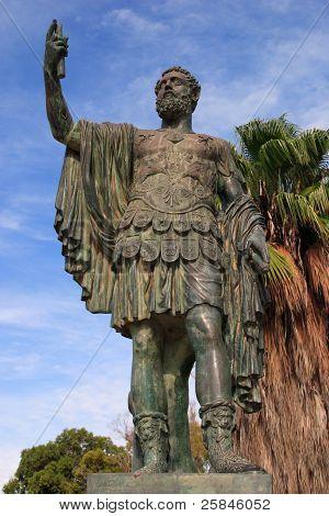 Septus Severius Statue Libya