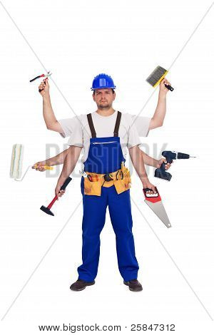 Handyman Or Worker - Jack Of All Trades