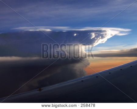 Thunderhead Over Mexico