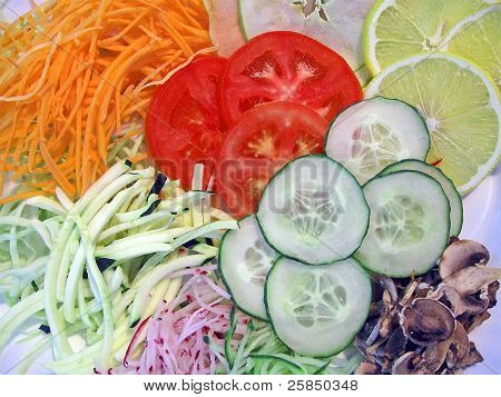 Abstract Food Diversity, Cooking Details