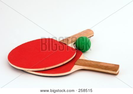 Table Tennis Bats And Ping Pong Ball