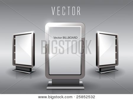 Vector vidrio Billboard