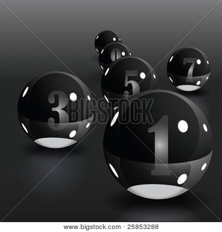 Vector abstract Background. Black and White