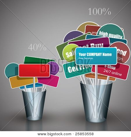 Vector Corporate Labels