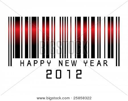 Barcode new year  2012