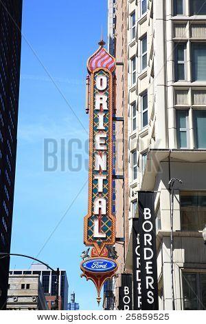 Oriental Theater - Chicago, Illinois