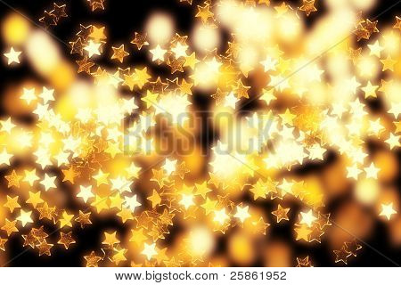 Glowing Stars And Lights