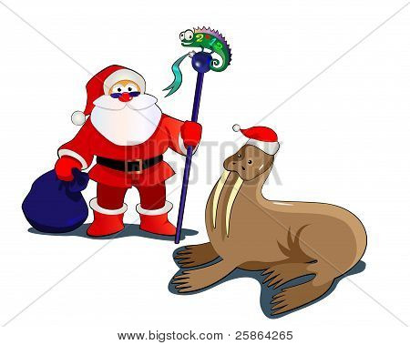 Santa&Walrus