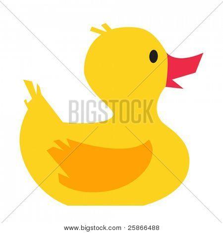vector illustration of duck