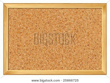 vector illustration of Bulletin Board