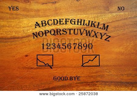 Ouija Stock Board