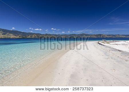 A White Sand Beach In