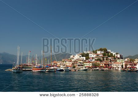 Beautiful Marmaris Marina Bay