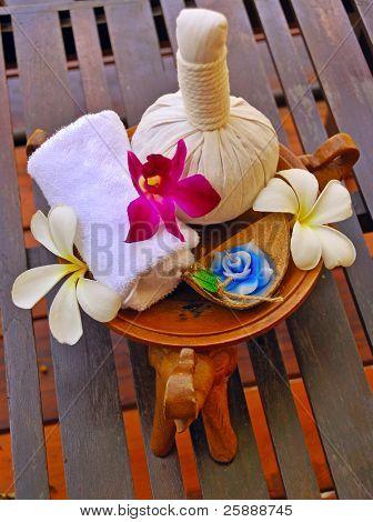 Natural Herbal & Foral Spa set