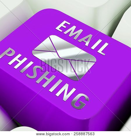 poster of Phishing E-mail Internet Threat Protection 3D Rendering