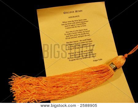 College Hymn And Tassel
