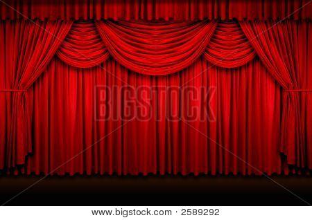 Cortinas de palco