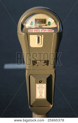 parking meters are always ready to accecpt your money for the privlage to park at this location
