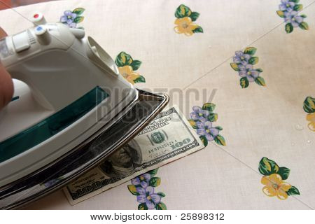ironing money / money laundering