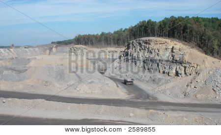 Coal Trucks-Mountaintop Removal