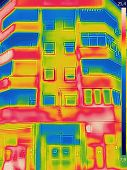 Detecting Heat Loss Outside Building Using Infrared Thermal Camera poster