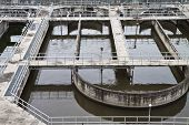 Wastewater treatment plants.