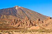Постер, плакат: Вулкан Тейде Лас Каньядас дель Тейде долина Тенерифе Канарские острова Испания