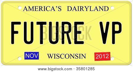 Future Vp License Plate