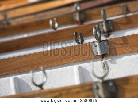 Rowing Boat Detail