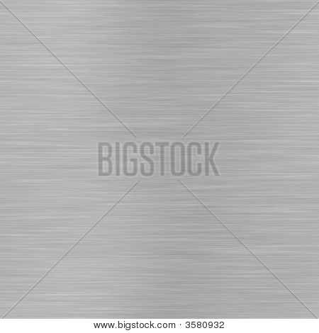 Horizontal Lined Brushed Metal Surface That Can Be Seamlessly Ti