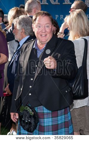 HOLLYWOOD, CA - JUNE 18: Executive Producer John Lasseter arrives at the Los Angeles Film Festival premiere of 'Brave' at Dolby Theatre on June 18, 2012 in Hollywood, California.