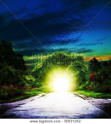 Portal To Eden.