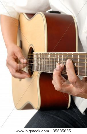 Playing The Acoustic Guitar