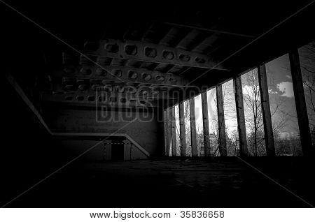 Industrielle Foto von Tschernobyl im März 2012